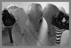 Le scarpe con il tacco sono le responsabili dell'alluce valgo